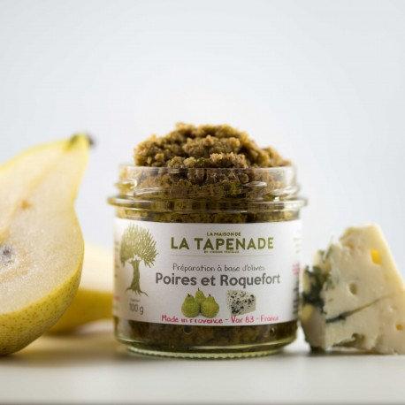 Tapenade Poire et Roquefort