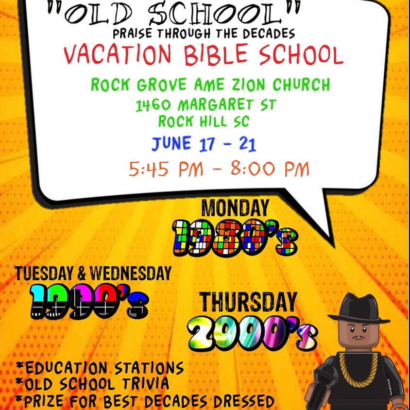 Old School Vacation Bible School
