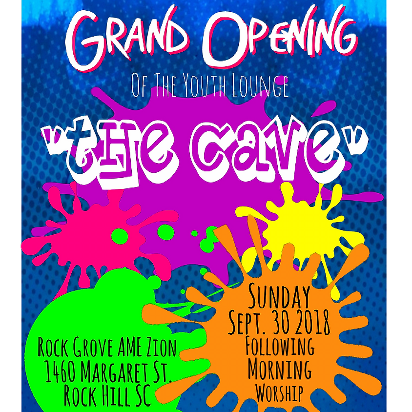 """Rock Grove AME Zion Youth Lounge The Cave"""""""