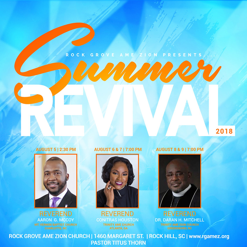 Summer Revival by Rock Grove AME Zion