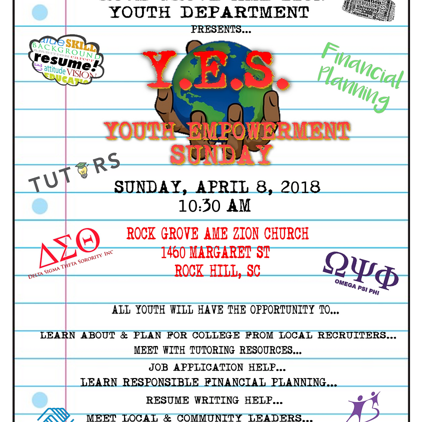 Y.E.S Youth Empowerment Sunday