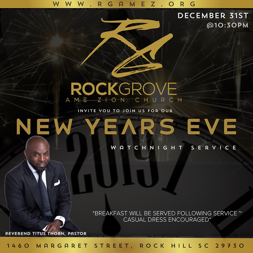 New Years Eve WatchNight Service