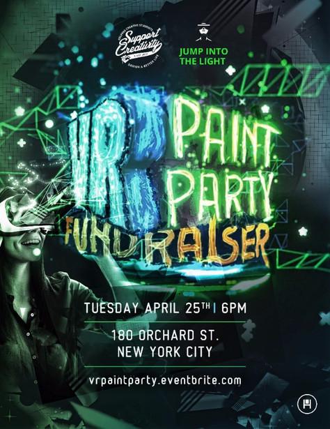 VR Paint Party Fundraiser