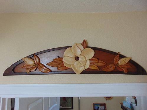 Magnolia Overhead Door Decor
