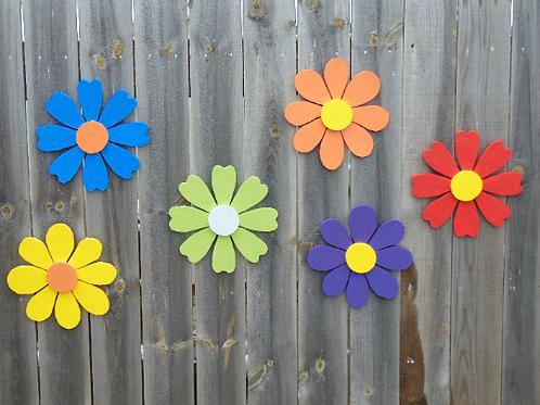 "Garden Shed wood 12""Flower"