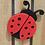 Thumbnail: Lady bug Garden décor, Lady Bug