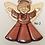Thumbnail: Angel Intarsia - Variety of colors and wood Handmade
