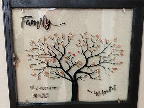 Black & Gold Family Tree