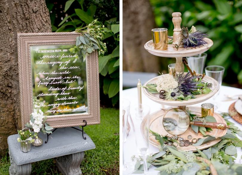 Mirrors-with-calligraphy-used-in-wedding-decor