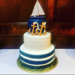 Anchor tier cake