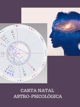 CARTA NATAL ASTRO-PSICOLÓGICA