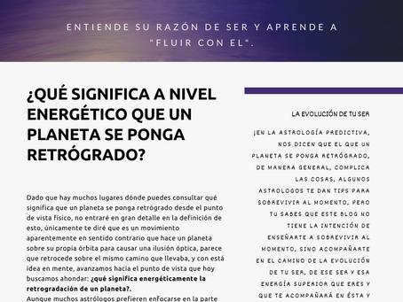 MERCURIO RETRÓGRADO EN ESCORPIÓN ¿QUÉ SIGNIFICA? - (01NOVIEMBRE  AL 20 DE NOVIEMBRE 2019).
