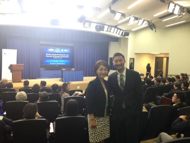 Yul Kwon at White House
