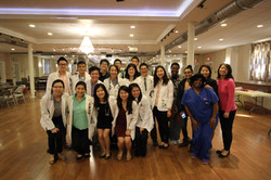 with JHH medical students and HBI and UMD