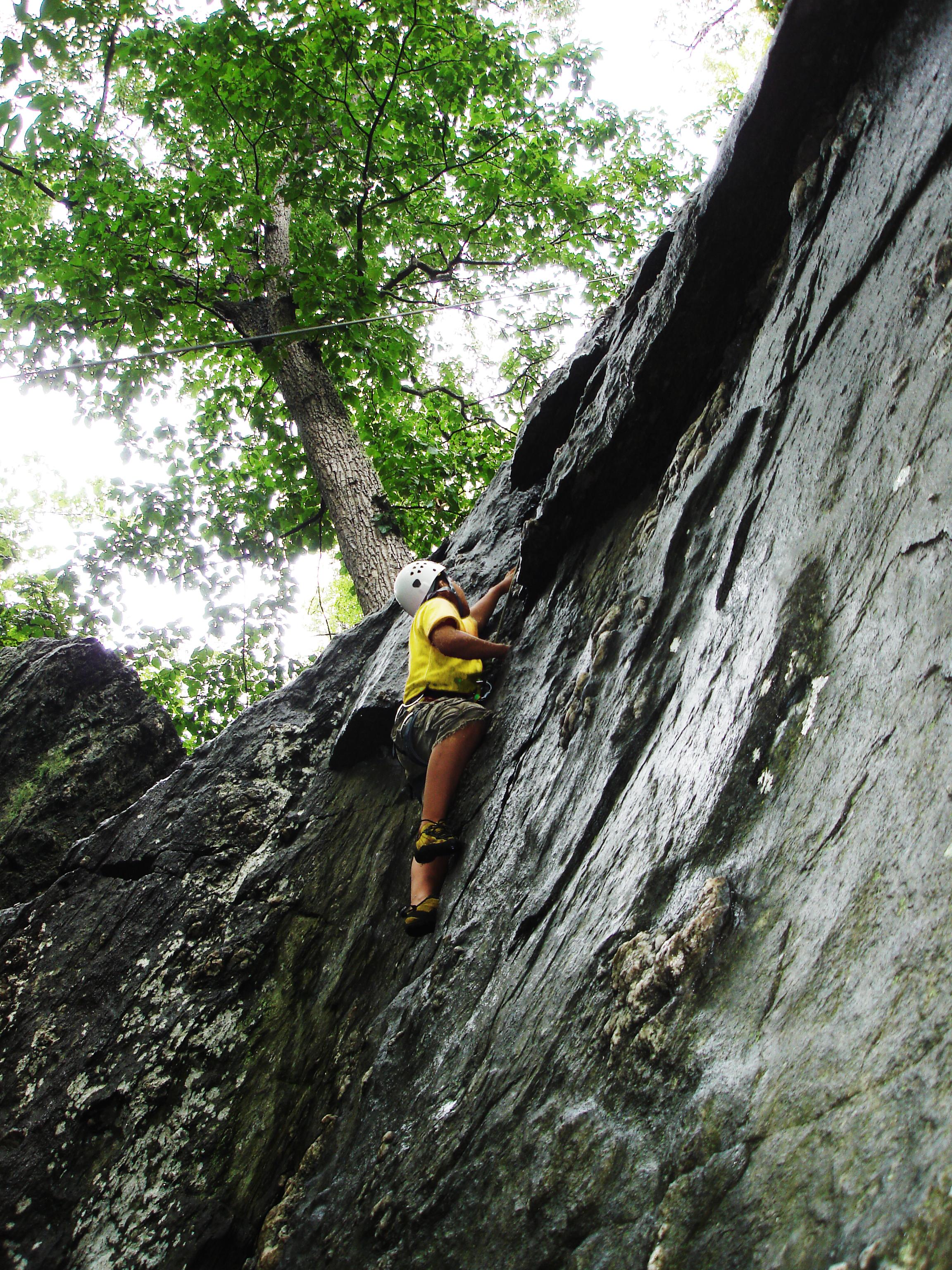 LEAD_Youth Rock climbing Trip