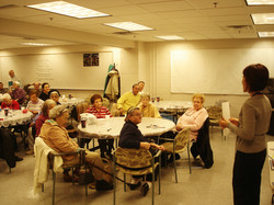 Health Presentation at James Lee Senior Center