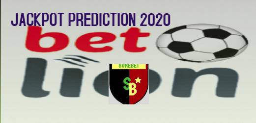 Betlion Jackpot Predictions