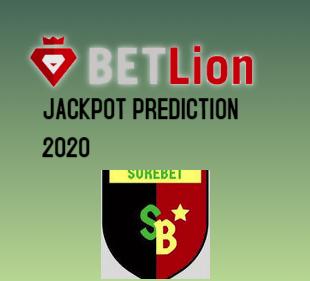 Betlion Jackpot prediction 12th November 2020
