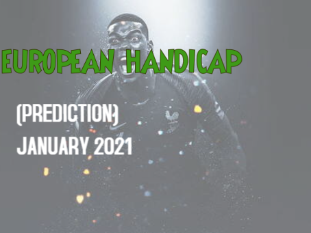 Euro Handicap Tips Archives January 2021