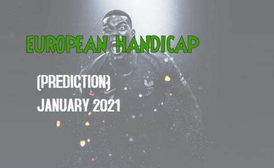 european handicap prediction