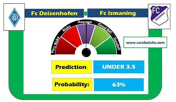 FC DEISENHOFEN vs FC ISMANING SURE PREDICTION