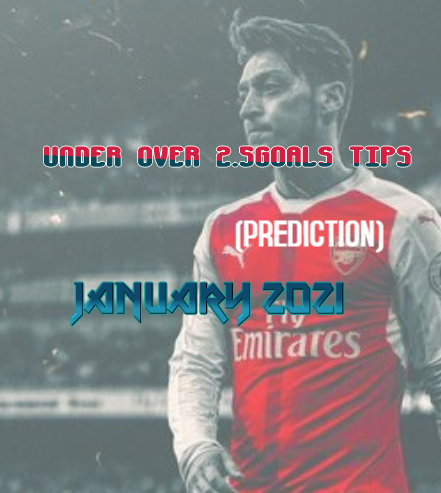 under over 2.5goals prediction Jan 2021