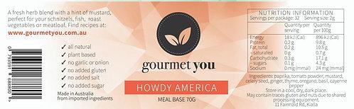 Howdy America Meal Base