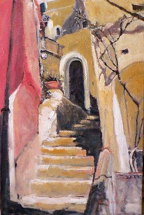 Positano (Oil on Canvas)