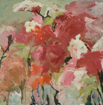 Full Bloom (Acrylic on Canvas)