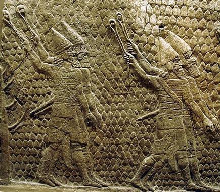Relleu foners asiris. Palau de Senaquerib a Ninive