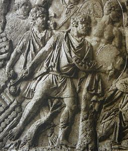 Relleu de foners representats a la columna de Trajano