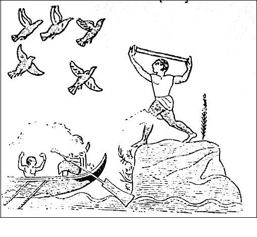 Detall fresc etrusc