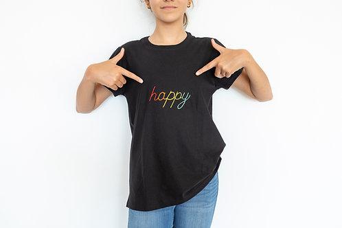 CAMISETA BASIC HAPPY