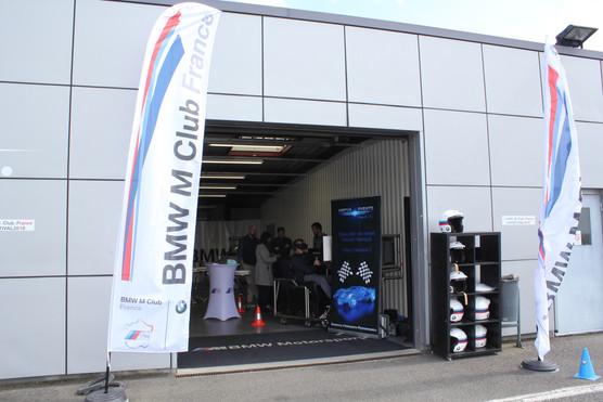 simulateur de course BMW