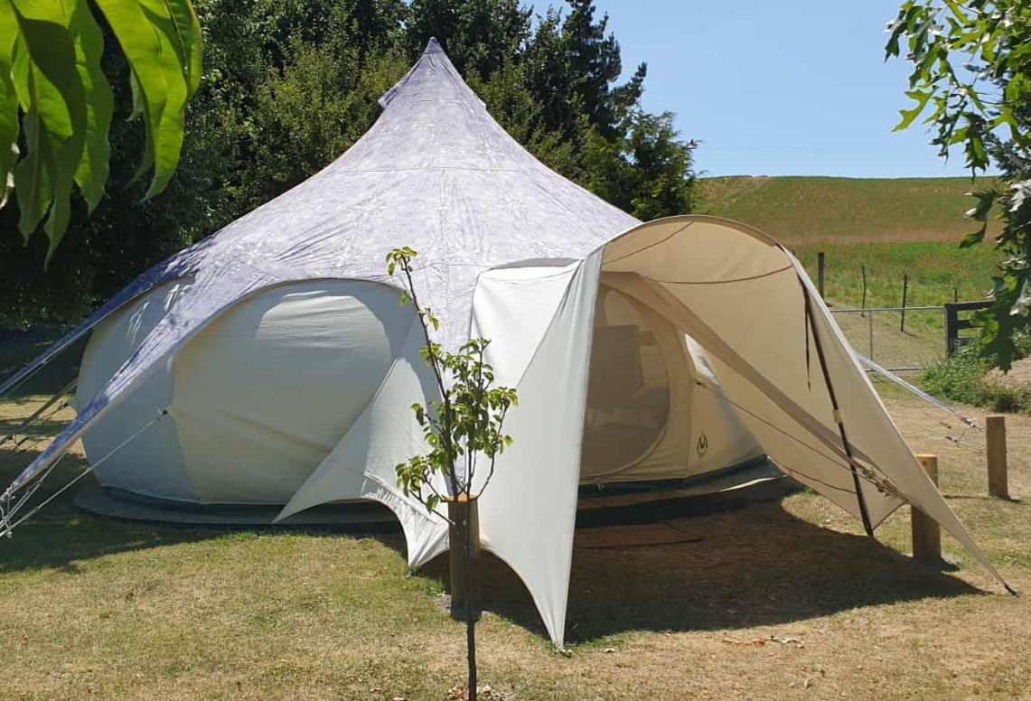 Pukeko Place Glamping Tent