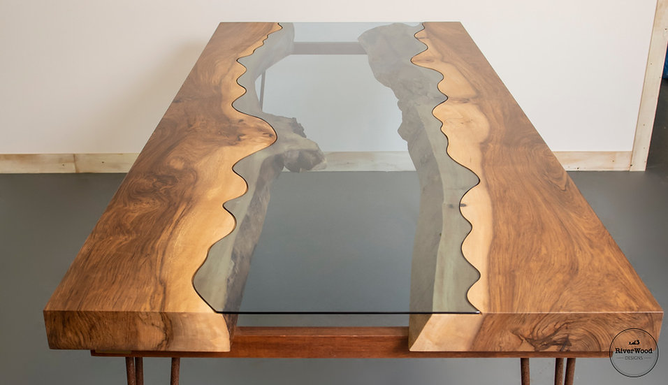 Irish Walnut River Table