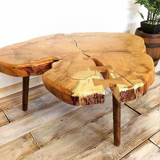 Beech Wood Coffee Table