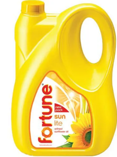 Fortune Sunflower Refined Oil, 5 L