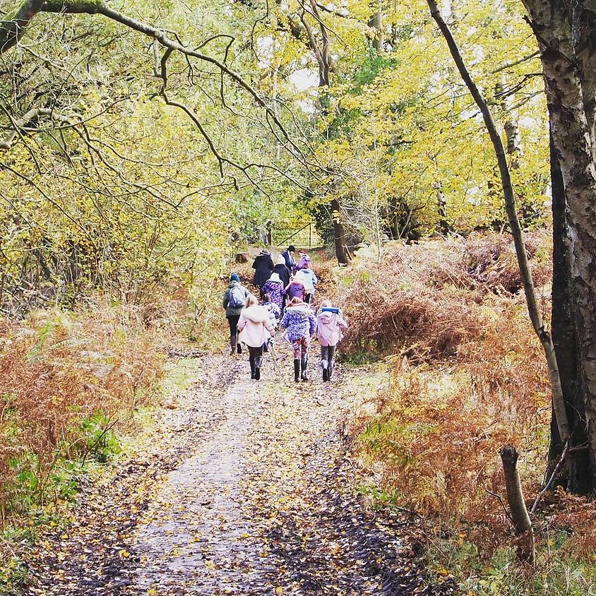 Kids Creative Woodland Retreat Day