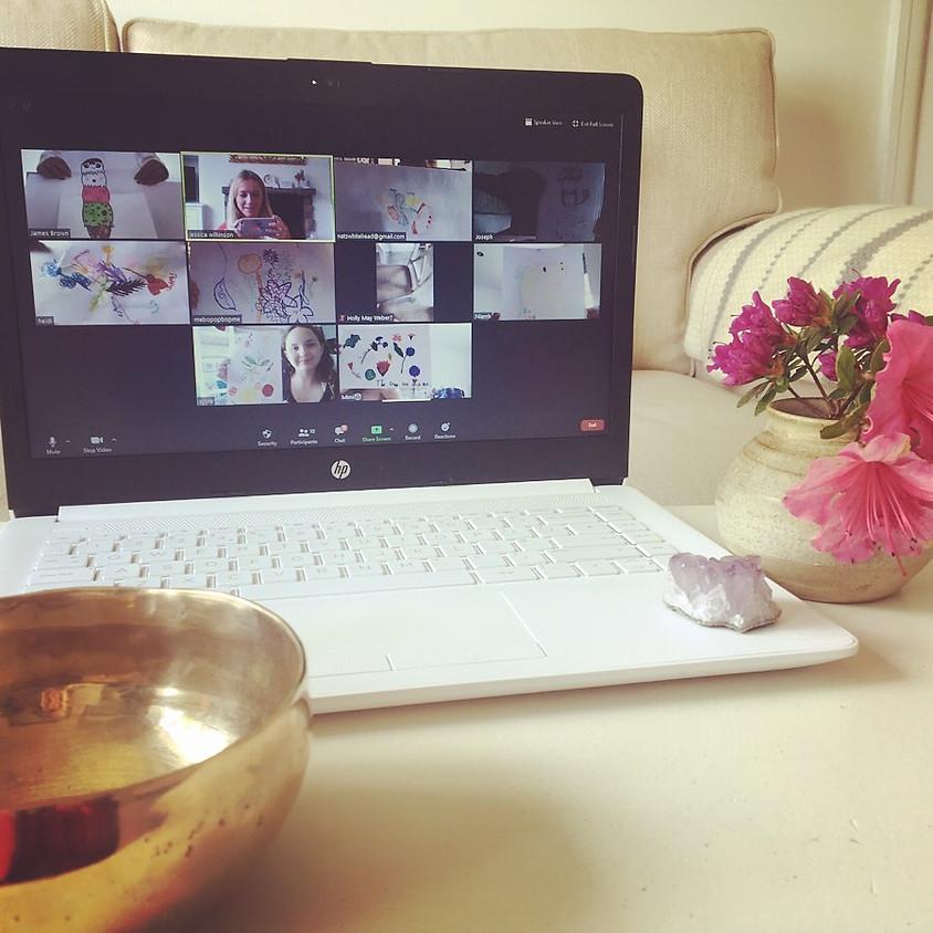 Online tween art and relax