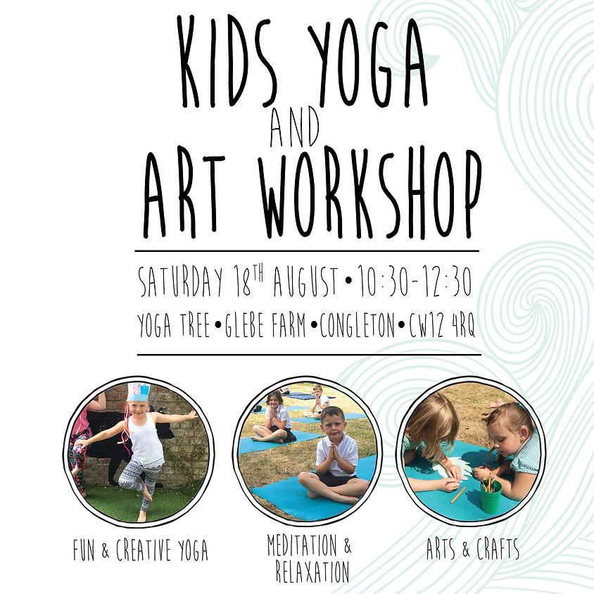 Kids Yoga and Art Workshop