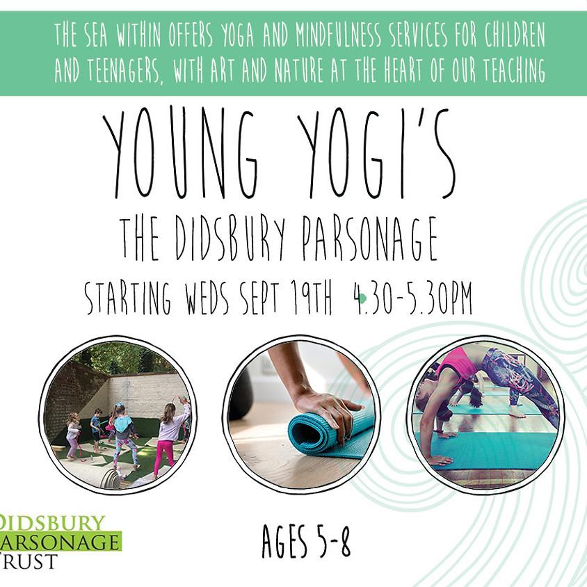 Young Yogi's at Didsbury Parsonage, Stenner Lane.