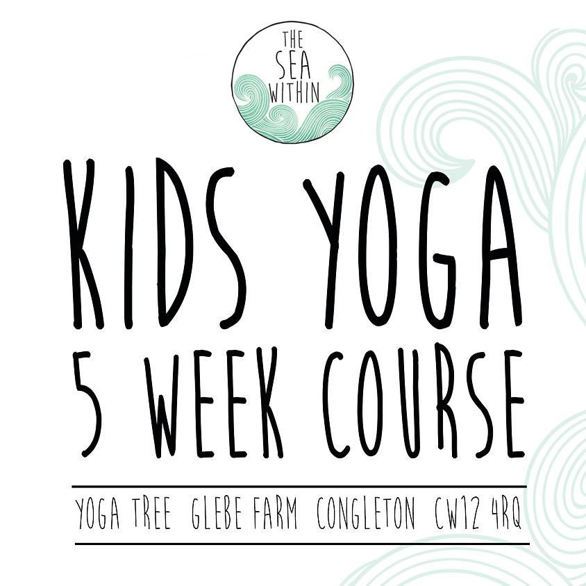 Kids 5 Week Yoga Course @The Yoga Tree