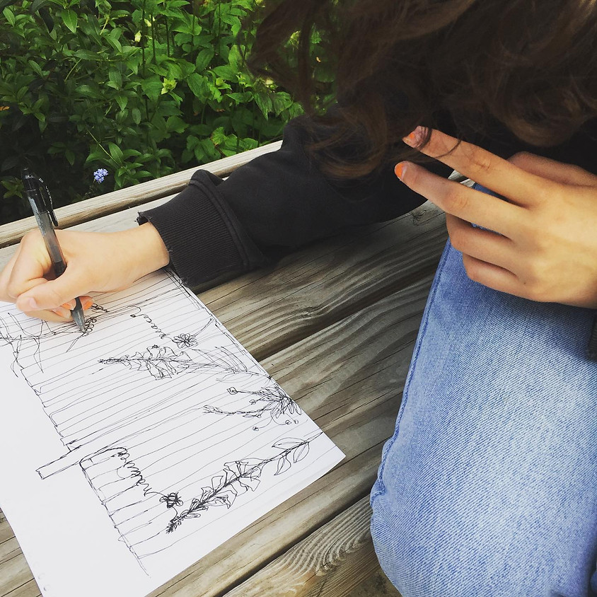Art From The Heart - Kids outdoor art club (Ages 8-12)