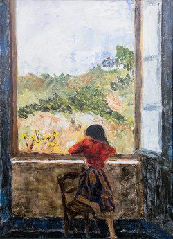 Girl at Window (sold)