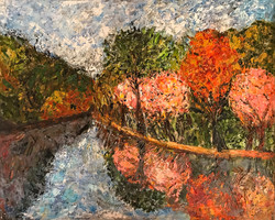 Dogwood along the canal (Sold)