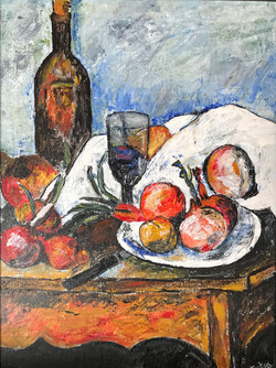 Tribute to Cézanne (sold)