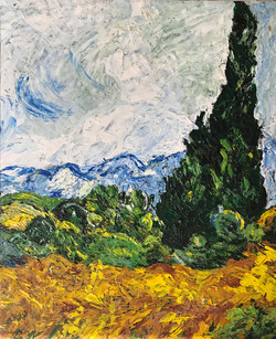 Tribute to Van Gogh (sold)