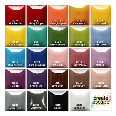 Glaze Colors