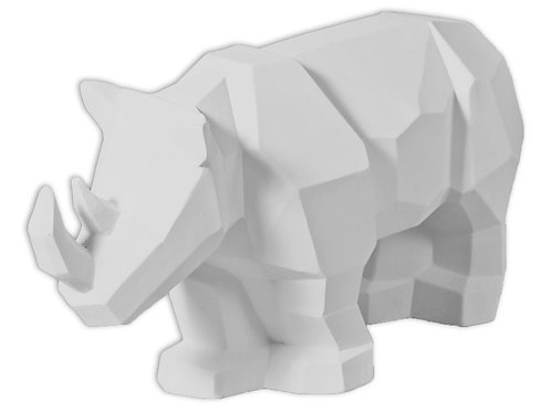 Faceted Rhino